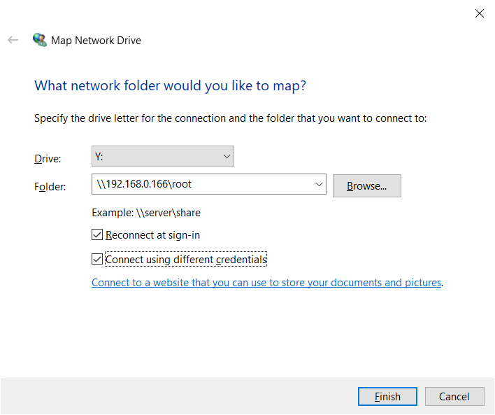 Ultimate Home Server Part 4 – Setting up Network Shares